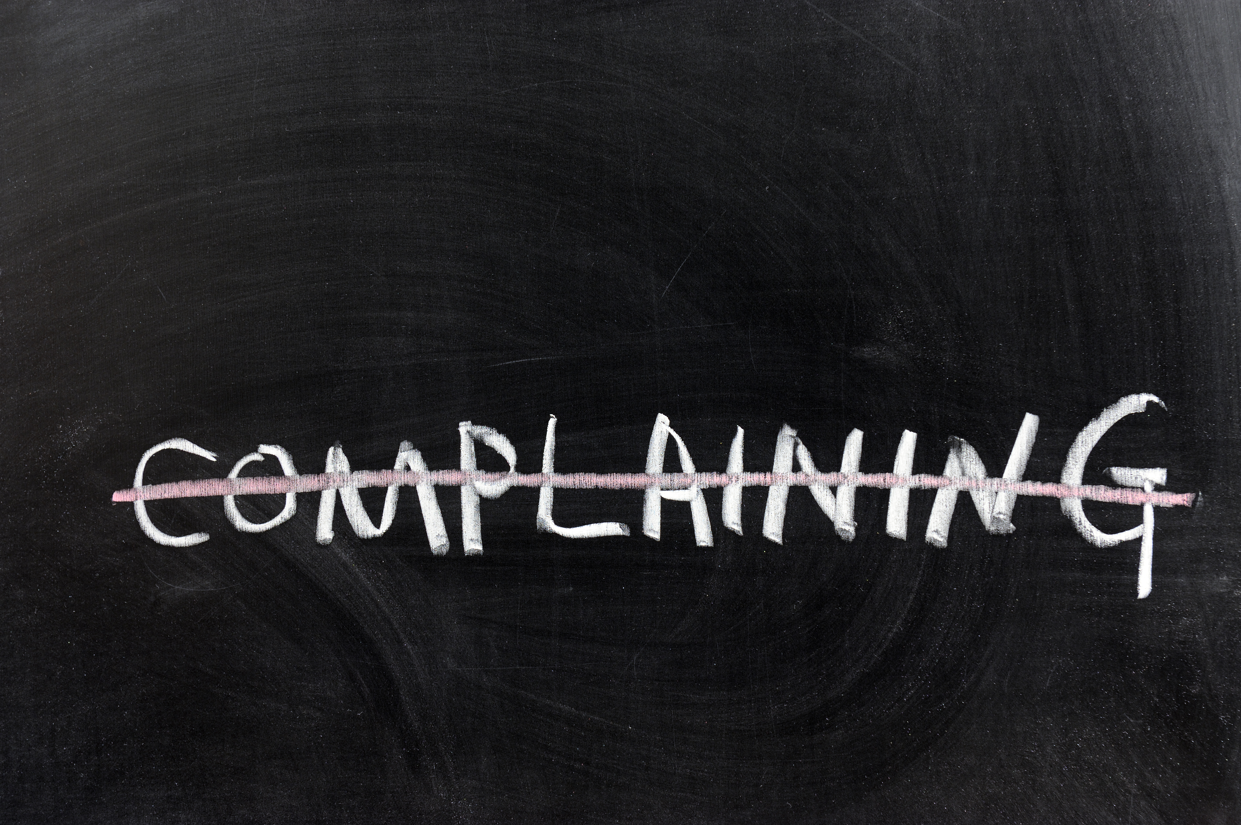 Blame and Complaining – radio diary